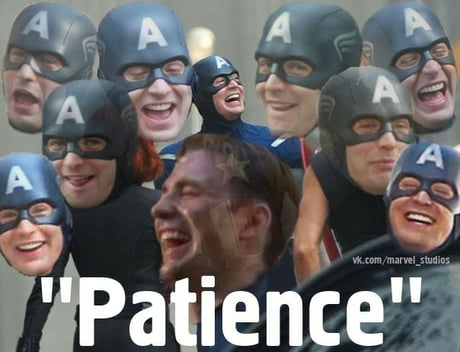 Did someone say 'Patience'?