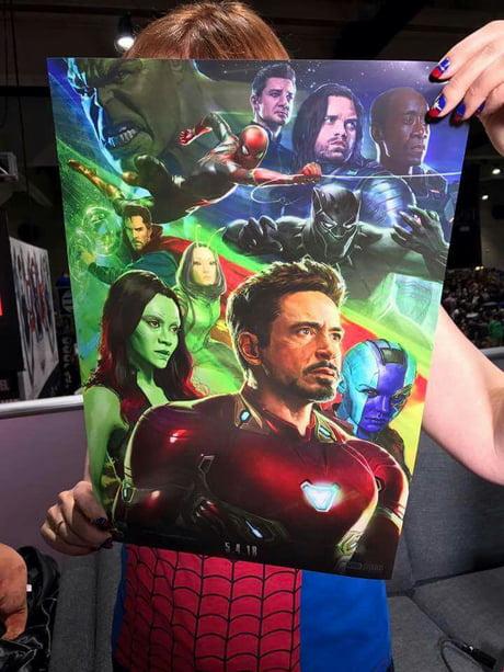 New avengers infinity war poster