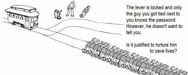 Trolley problem #1 - 9GAG