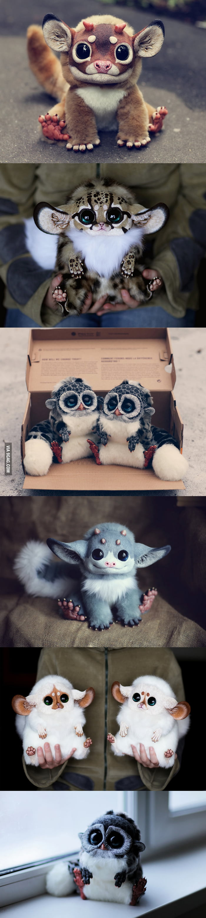 Ultra-realistic fantasy dolls made by Santani, a 23-year-old girl from Moscow, Russia