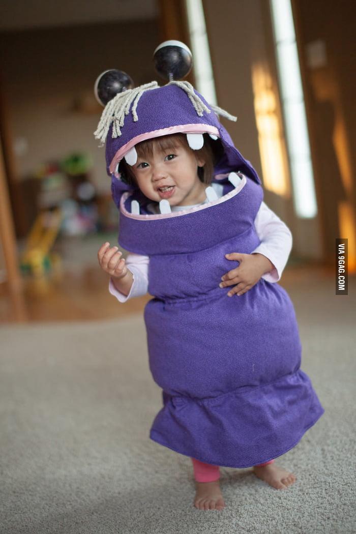 Boo from Monsters Inc. - My Daughteru0026#039;s Halloween Costume  sc 1 st  9Gag & Boo from Monsters Inc. - My Daughteru0027s Halloween Costume - 9GAG