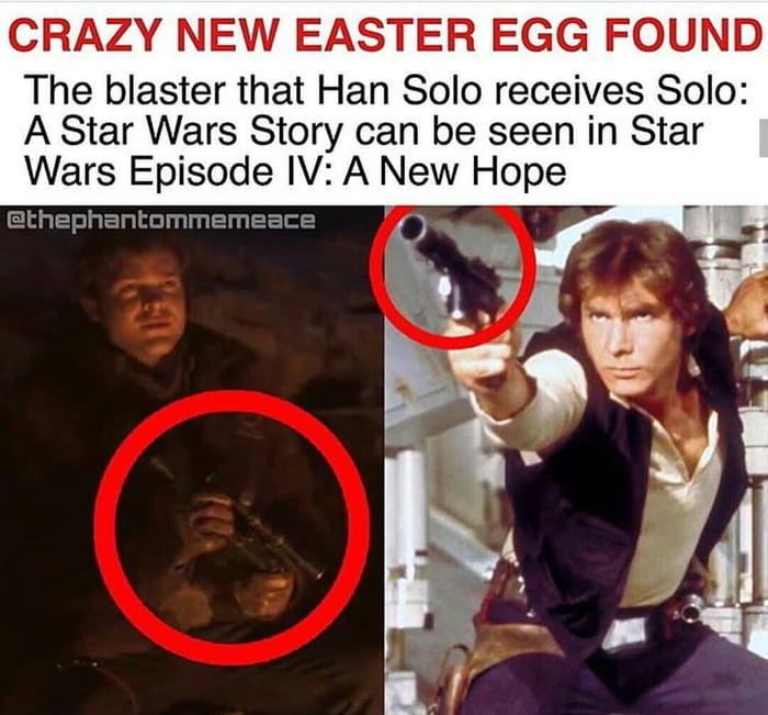 Another easter egg from Solo: A Star Wars Story discovered