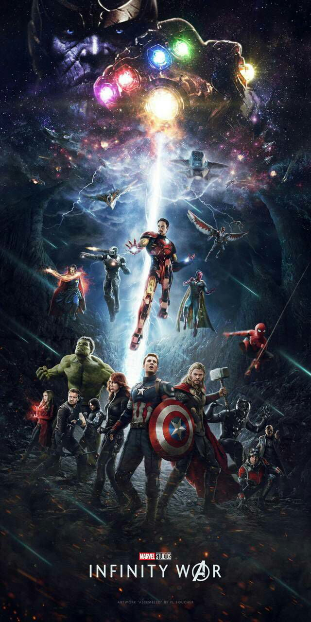 infinity war wallpaper - 9gag