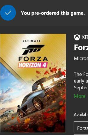 forza horizon 4 ultimate edition
