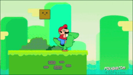 This is why I think Mario is a scumbag (I still love Nintendo)