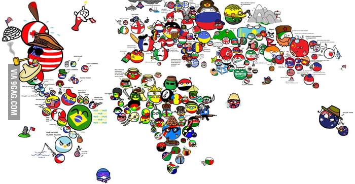 Countryball world map 9gag countryball world map gumiabroncs Choice Image