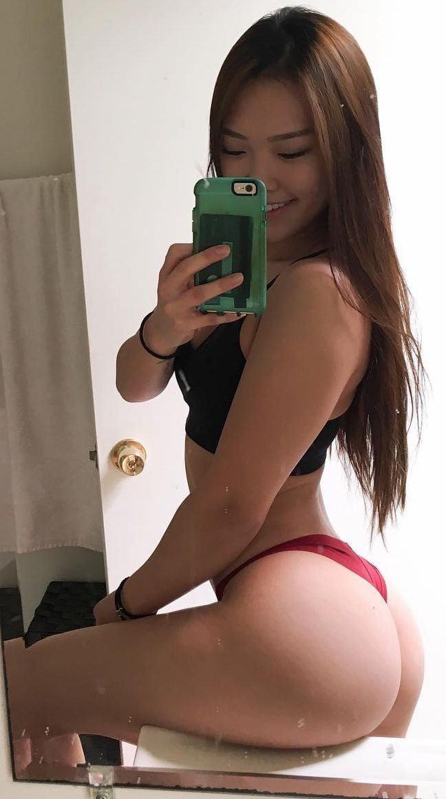 Hot ass asian babes Asian Booty 9gag