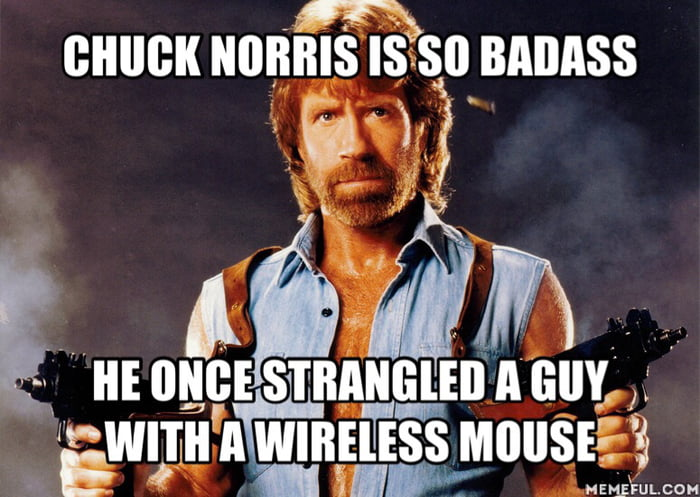 Chuck norris badass