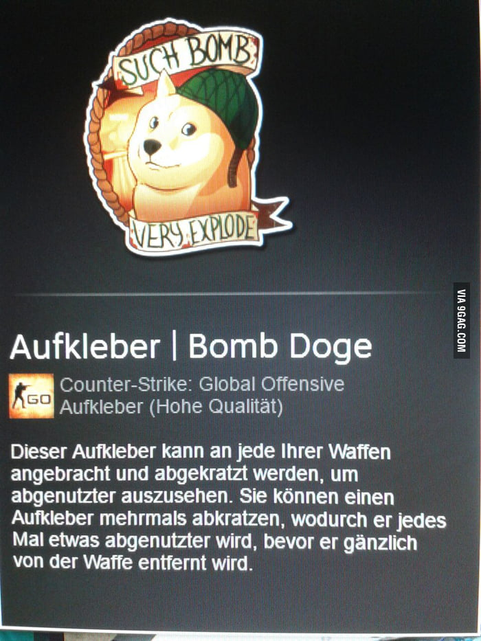 Did You Guys Know That Theres A Virtual Csgo Sticker Of Our