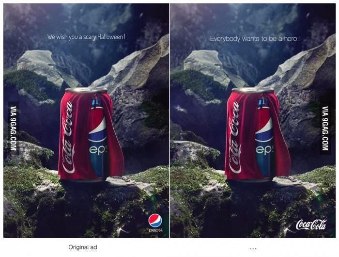 Coke hits back at Pepsi Halloween Ad