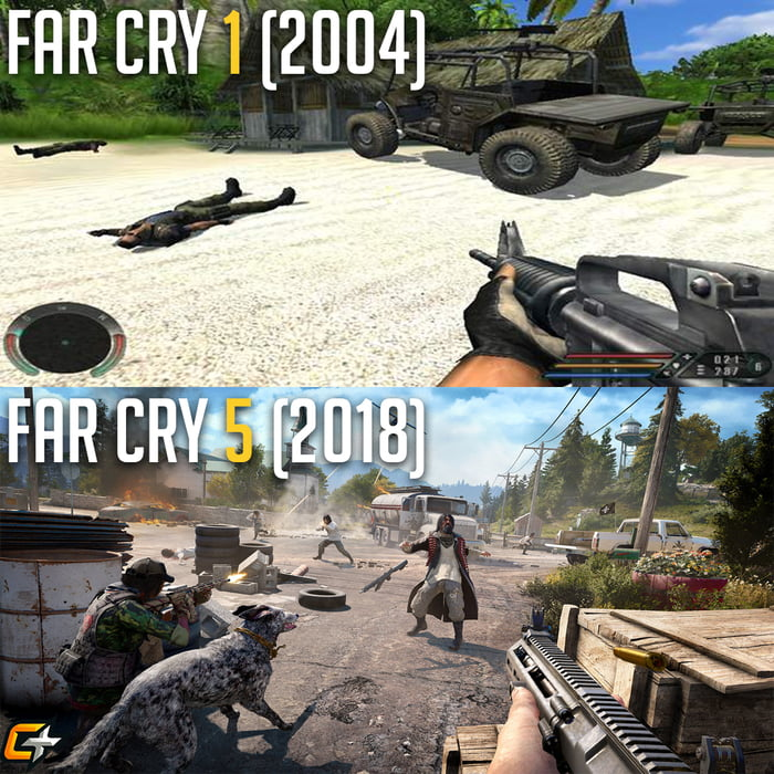 Far Cry 5 Is Looking Good Let S Hope The Game Is Too 9gag