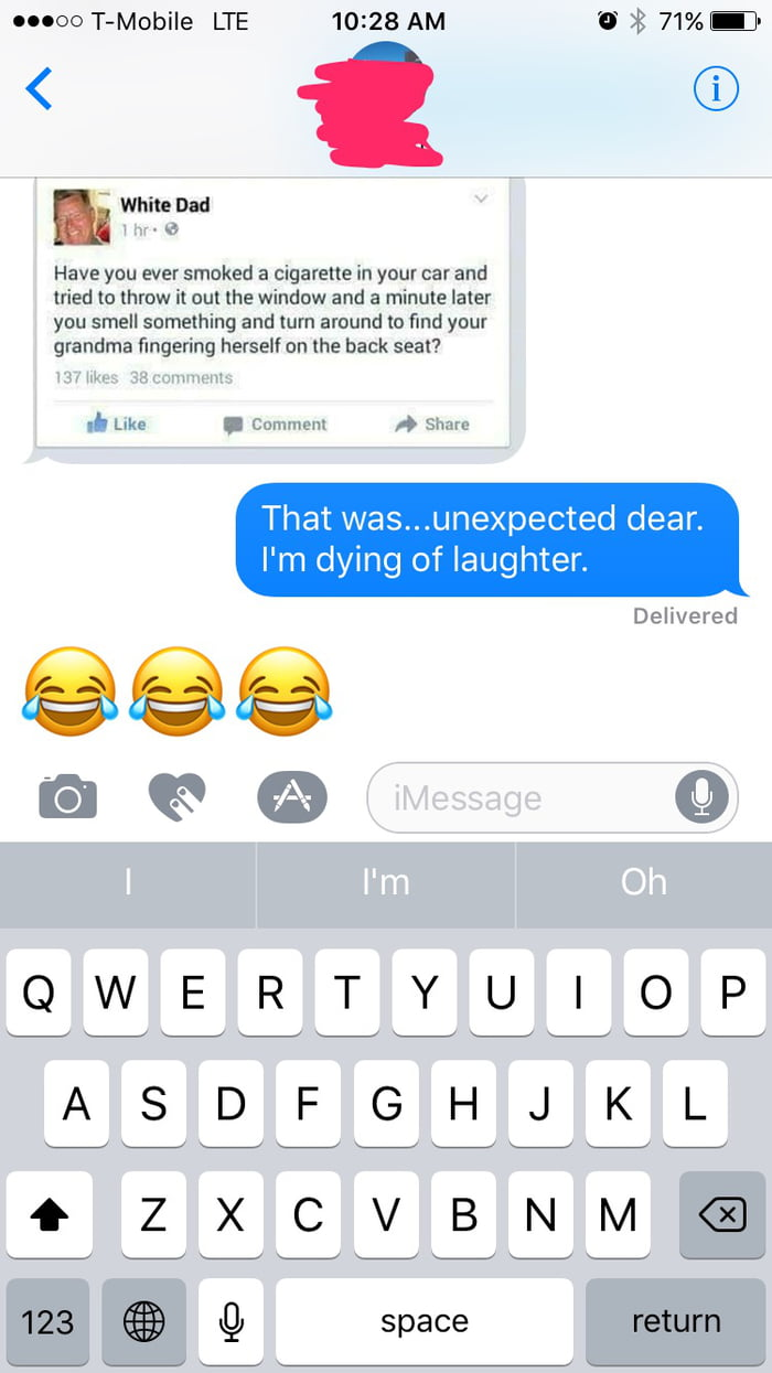 Love Dirty Texts From The Wife 9gag