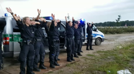 Police Work done Right! Parookaville Germany