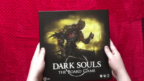 The Dark Souls board game seems to stay true to the original material