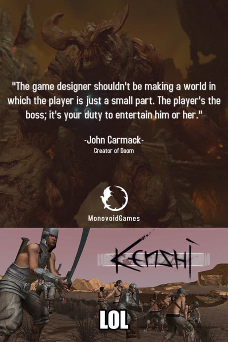 This world just doesn't care about you « kenshi » - 9GAG