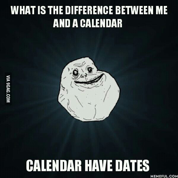 forever alone new years