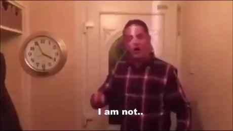 I am not drunk!