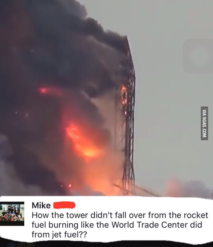 Best comment of the day about SpaceX rocket explosion   - 9GAG