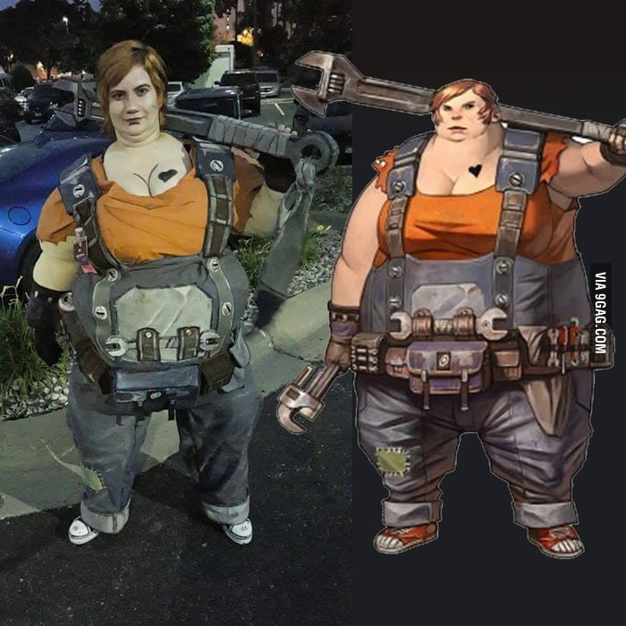 amazing borderlands 2 cosplay of ellie 9gag