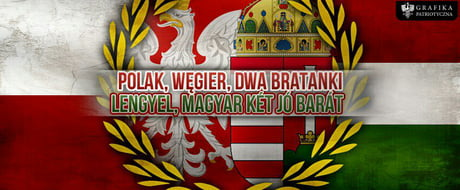Today is the Polish-Hungarian Friendship's Day