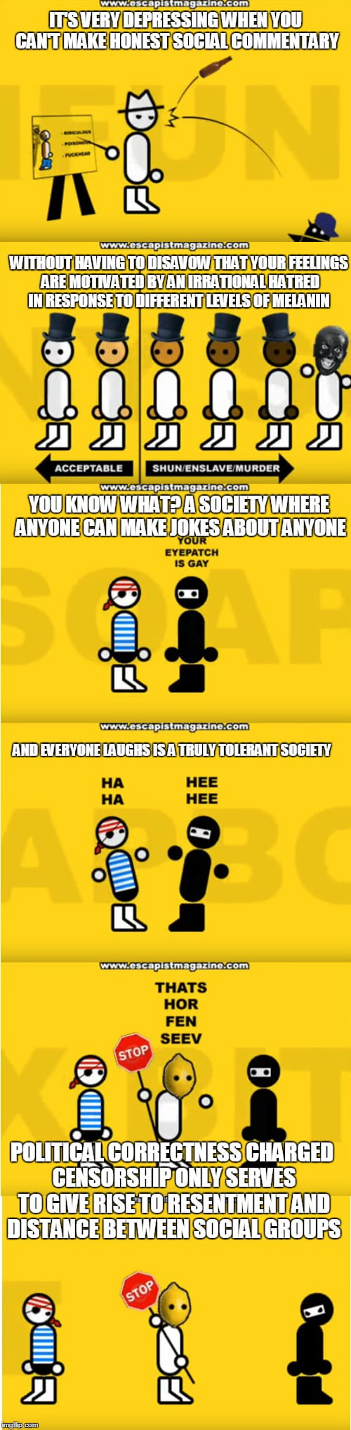 Zero Punctuation On Racism In His 50 Cent Blood On