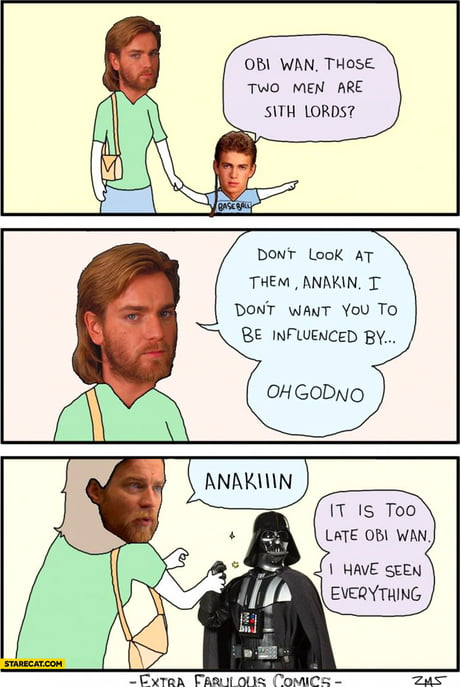 Star Wars Prequel Trilogy in a nutshell