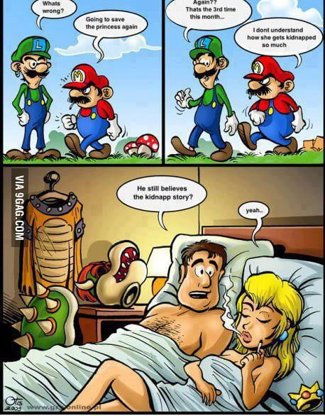Peach and bowser sexy comic pic 451