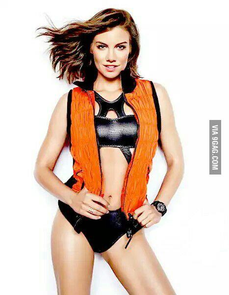 Lauren cohan sexy poster