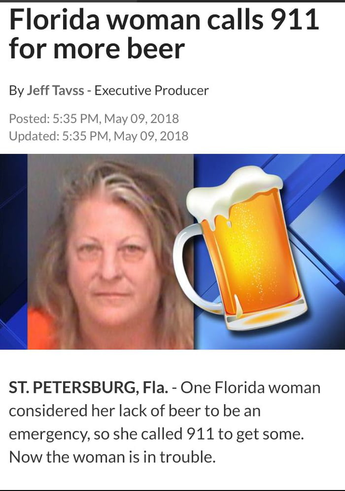 Forget florida man here is florida woman - 9GAG