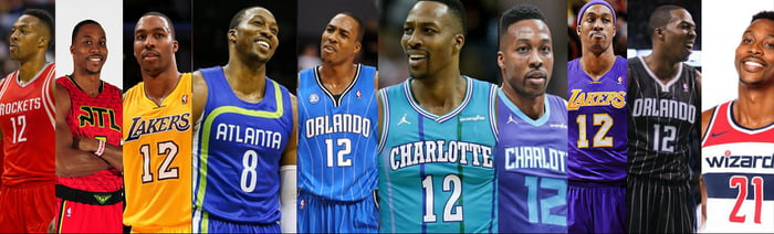 official photos 7240f 1ff04 Dwight Howard is slowly coming for Shaq's rainbow uniform ...