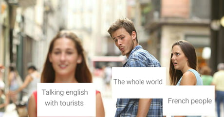 When it comes to talking to talking to foreigners