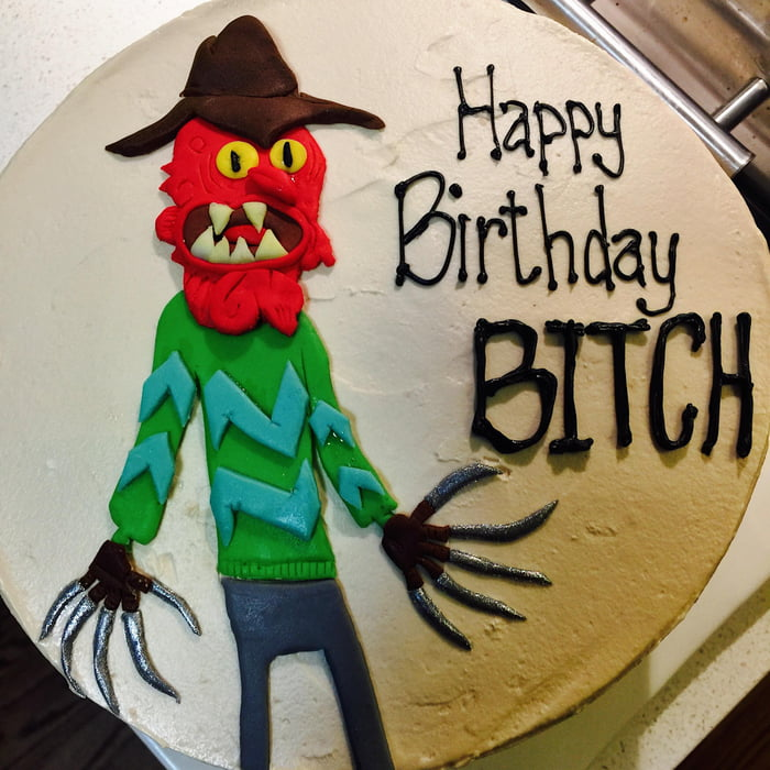 Scary Terry Birthday Cake Btch 9gag