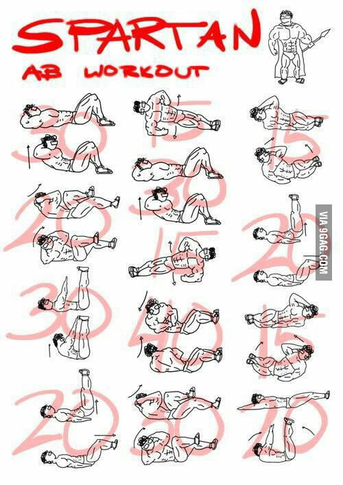 Hard Ab Workout 300 Reps Movie From The Top Down
