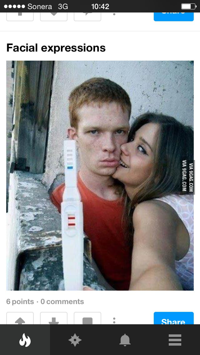 meme amazing idea positive pregnancy selfies couple call got photoshop tests 9gag