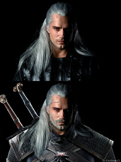 I Photoshopped Henry Cavill S Geralt From The Witcher