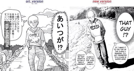 one punch man webcomic ending relationship