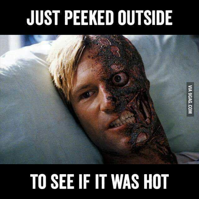 Image result for melting south texas heat meme