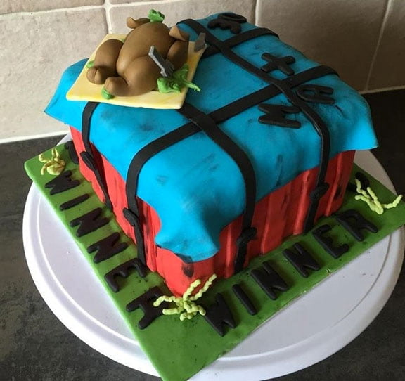 Custom Made Pubg Crate I Mean Cake 9gag