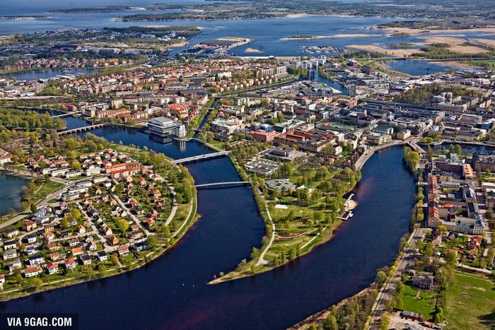 Karlstad Sweden B E A U T I F U L