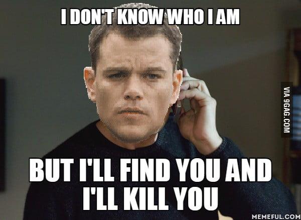 Jason Bourne Being Jason Bourne 9gag