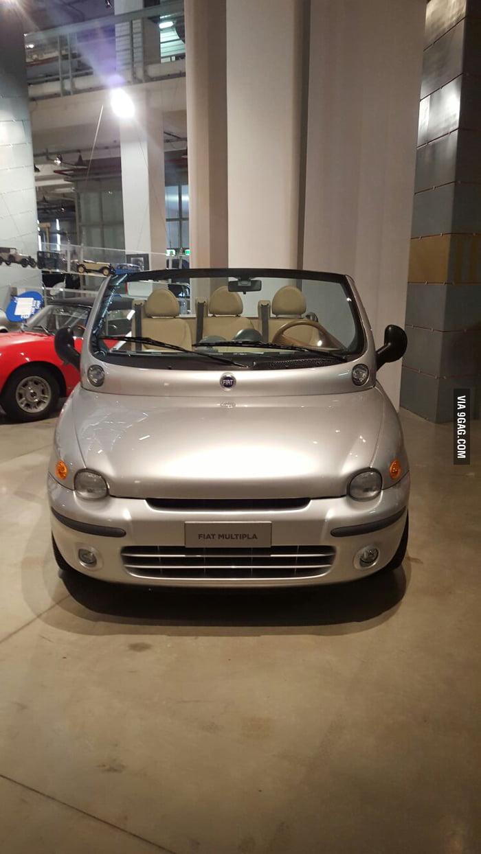 The ugliest car just got uglier. Fiat Multipla Eden Rock 2 - 9