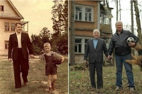 50 years, before and after.