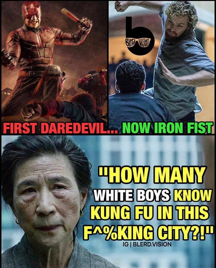 Iron Fist or Daredevil?