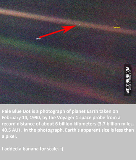 This Is Our Planet From 6 Billion Kilometers 3 7 Billion Miles Away