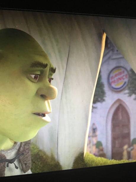 Burger Prince In Shrek 2 Just Found Out After 7 Years 9gag