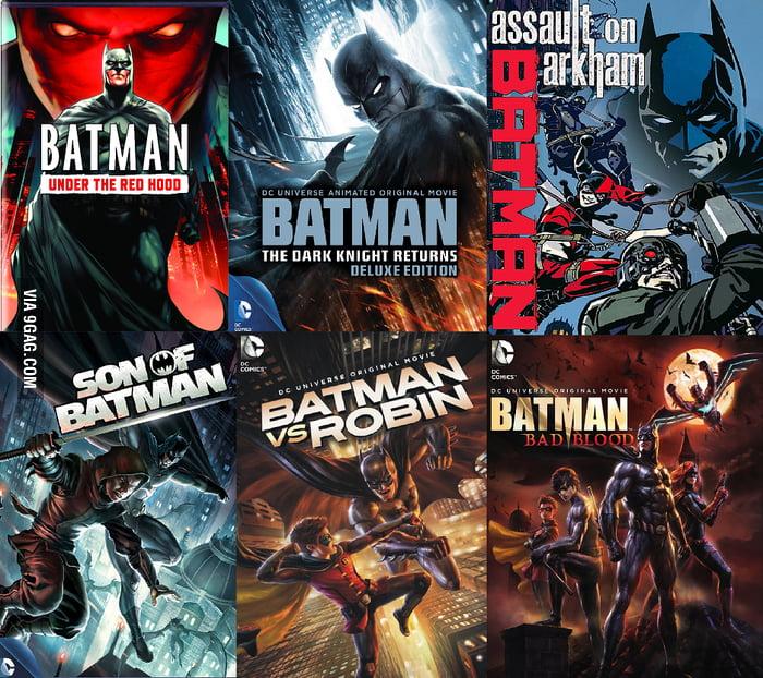 batman animated movies