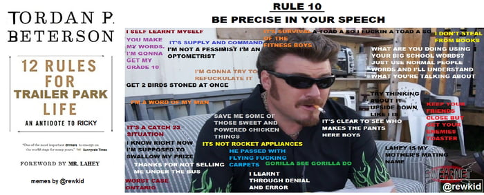 12 Rules For Trailer Park Life Rule 10 - 9 on small town life, carnival life, beach life, trailer trash family, family life, bar life,