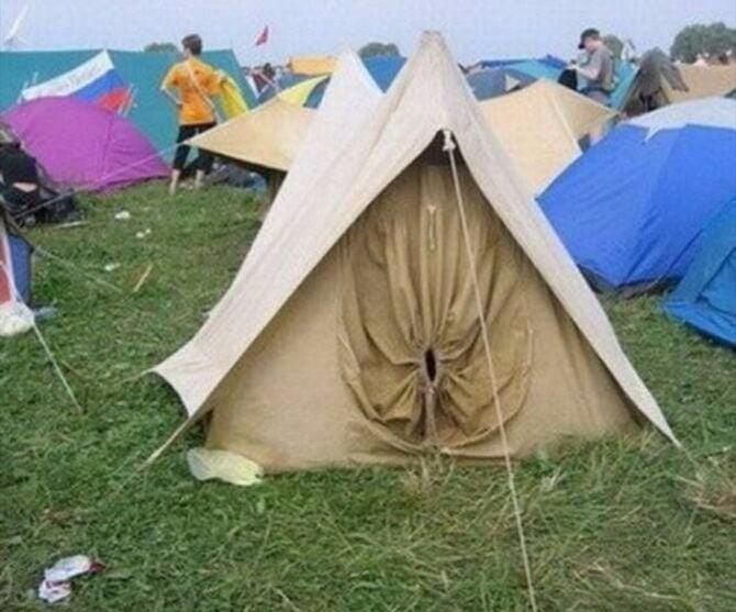 Perfect tent for assholes & Perfect tent for assholes - 9GAG