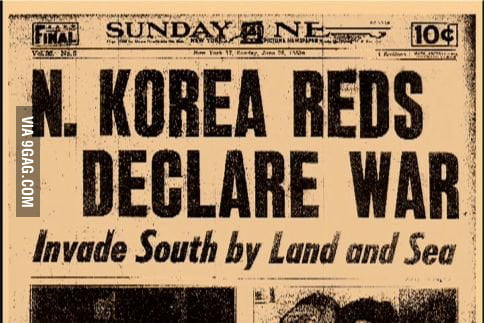 Image result for the korean war begins