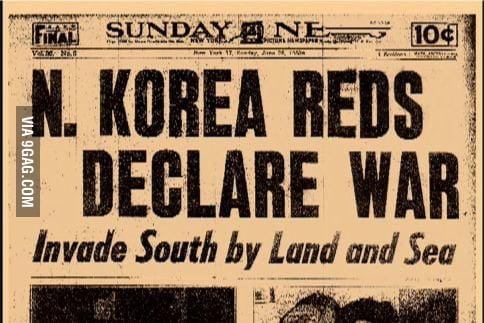 Image result for the korean war begins
